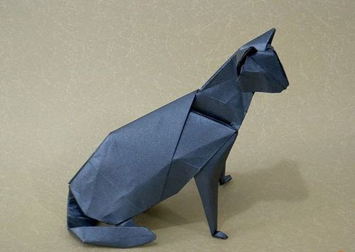 Кошка из бумаги своими руками фото 810