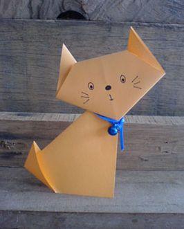Как сделать кошку из бумаги своими руками: мастер-класс