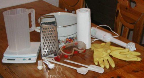 Как сделать мыло в домашних условиях