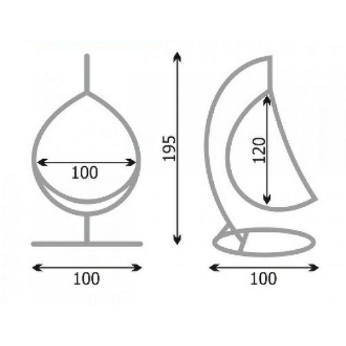 Как сделать подвесное кресло своими руками: пошаговая инструкция и прочее   фото и видео