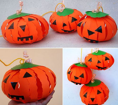 Как сделать тыкву на Хэллоуин: мастер-класс с инструкцией