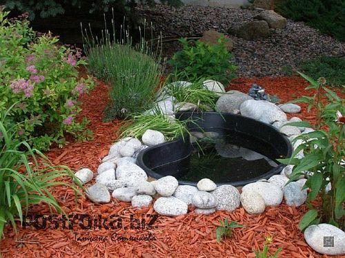 Как создать скусственный водоем на участке своими руками