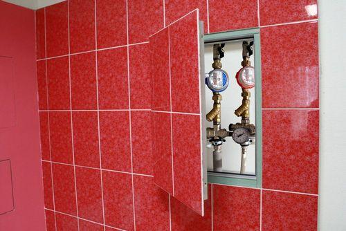 Как спрятать трубы в ванной комнате: фото и видео инструкции