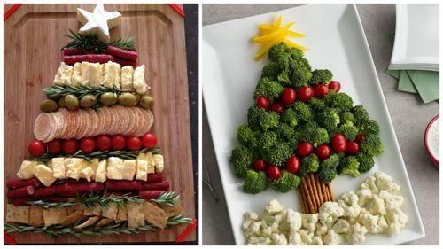 Как украсить новогодний стол 2018 - блюда и украшения в год собаки