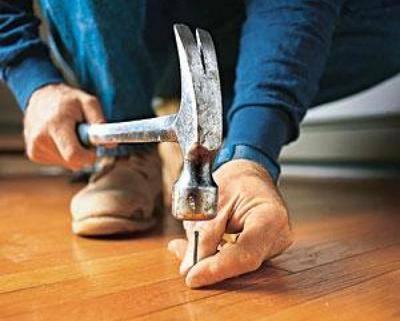 Как устранить скрип деревянного пола в квартире своими руками