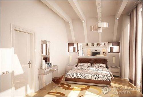 Как визуально увеличить высоту потолка в квартире, в доме ( фото)