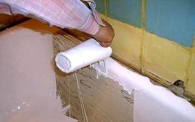 Как восстановить старую ванну. Три способа восстановления эмалевого покрытия
