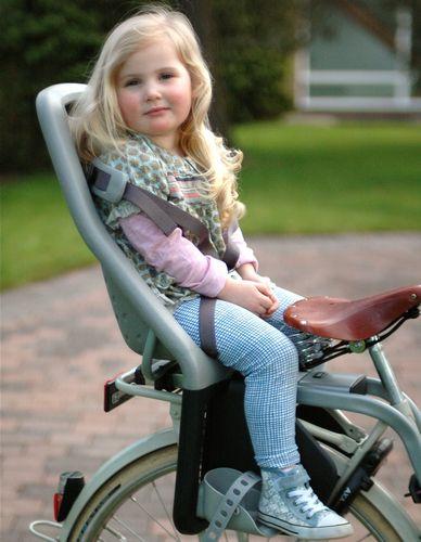 Как выбрать и установить детское кресло на велосипед?