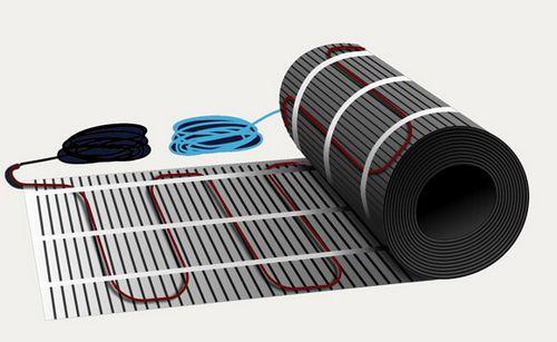 Как выбрать электрический теплый пол, преимущества и недостатки системы, фотографии  видео