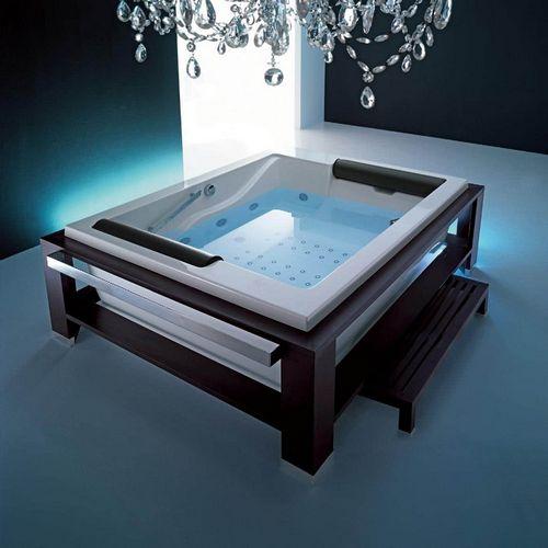 Как выбрать качественную квадратную ванну из акрила с учетом материала и стиля
