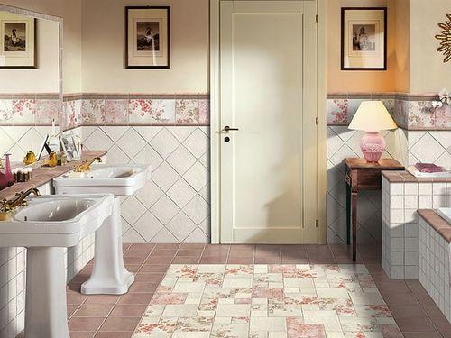 Как выложить кафель в ванной комнате: дизайн и способы укладки с фото примерами