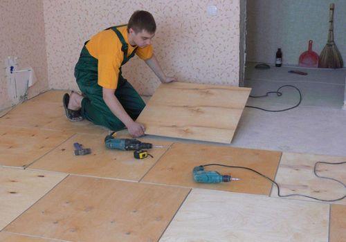 Как выровнять деревянный пол фанерой не срывая доски, подложка, укладка ОСБ и ДВП