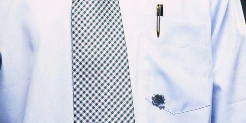 Как вывести чернила с цветной или светлой одежды, видео инструкция
