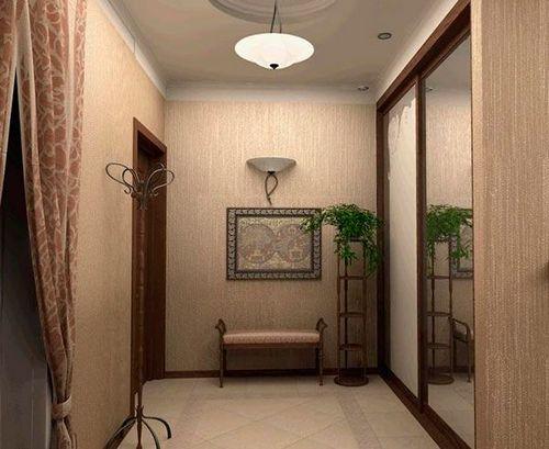 Какие обои выбрать для коридора: фото примеры