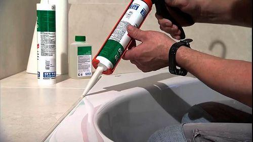 Какой герметик лучше для ванной комнаты