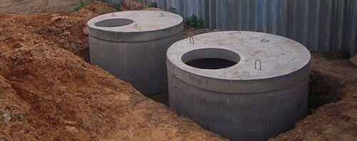 Канализация загородного дома своими руками из бетонных колец