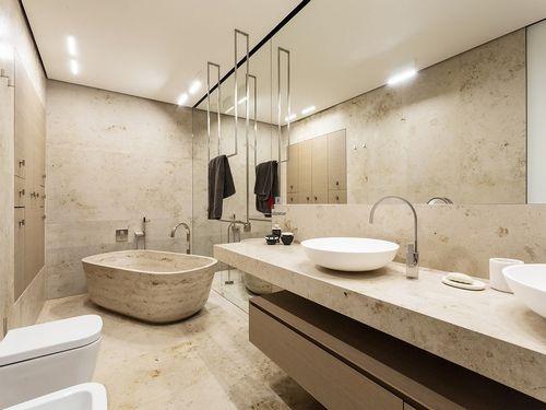 Керамическая плитка для ванной: тренды 2018 года с фото и примерами