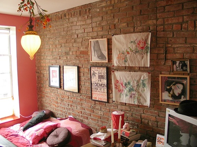 Кирпич в интерьере - кирпичная кладка как элитная отделка для стен