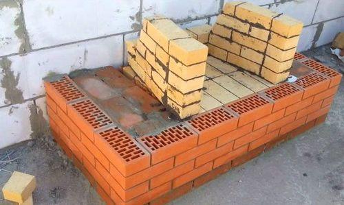 Кладка каминов из кирпича: устройство, как выложить своими руками, камин в разрезе, строительство, конструкция кирпичного камина, размеры портала, схема