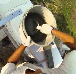 Клей для кладки газобетона