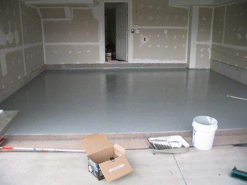 Когда нельзя в гараже делать бетонный пол - противопоказания