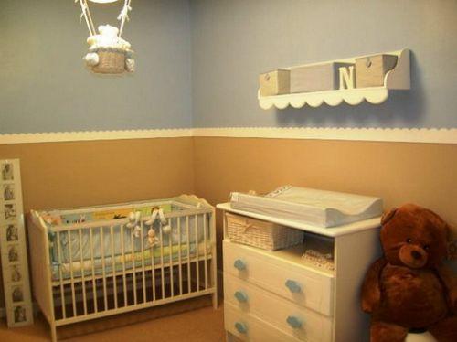 Комбинированные обои для детской комнаты: принципы и варианты создания комбинаций