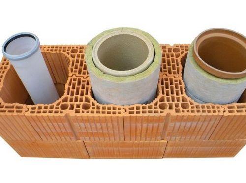 Конструкции, материалы и технологии возведения керамических дымоходов