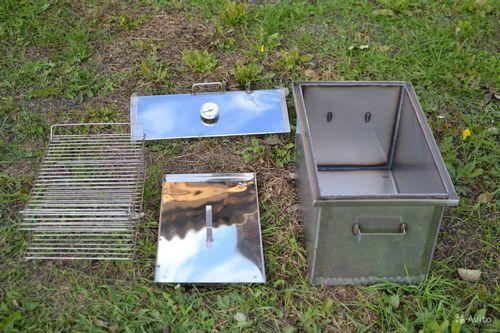 Коптильня из нержавеющей стали: устройство и особенности