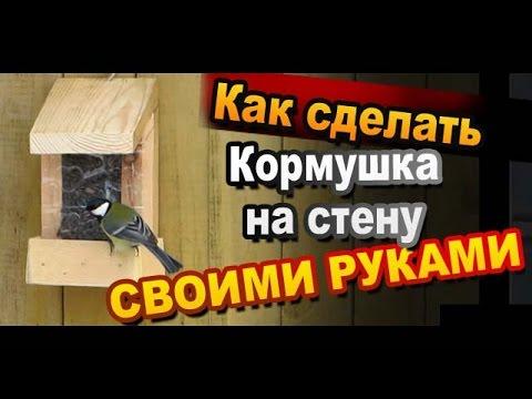 Кормушка для птиц из дерева своими руками: фото, видео инструкция