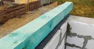 Крепим мауэрлат к газобетонной стене, все способы