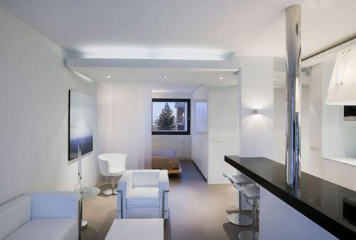 Квартира студия площадью 25 кв.м.: советы и и идеи по оформлению