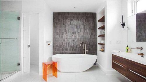 Матовая плитка для ванной комнаты