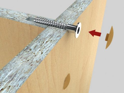 Мебель из ДСП своими руками: ремонт, изготовление, покраска