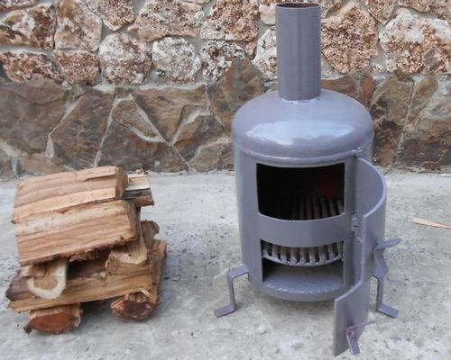 Металлическая печь для бани своими руками: как установить