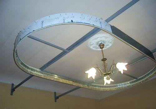 Многоуровневые натяжные потолки: монтаж двухуровневого и цена с подсветкой