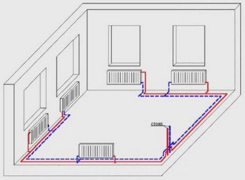 Теплый пол дома деревянными перекрытиями