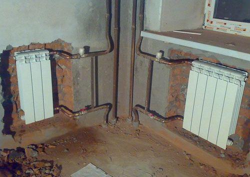 Монтаж радиаторов отопления: установка батарей в квартире, как правильно установить отопительные батареи, как монтировать в многоквартирном доме, как ставить