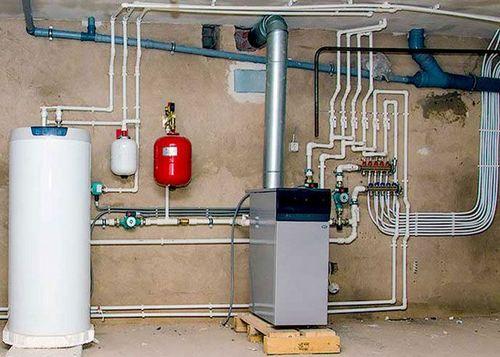 Отопление горячее водоснабжение многоквартирного дома