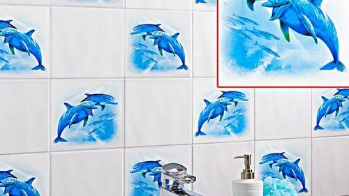 Наклейки в ванную для детей: фото идеи