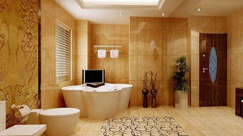 Настенная плитка для ванной: фото коллекция