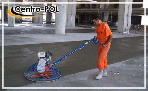 Обеспыливание бетонного пола, цементная пыль и обработка