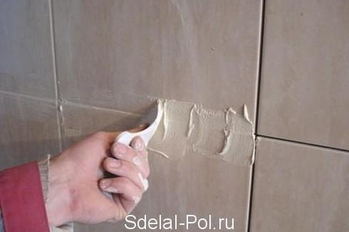 Облицовка стен керамической плиткой своими руками: технология и видео