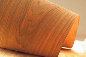 Обои на основе древесного шпона: выбор и поклейка