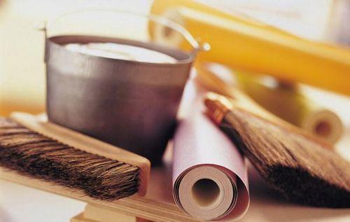 Обои на основе серпянки: выбор, поклейка и покраска