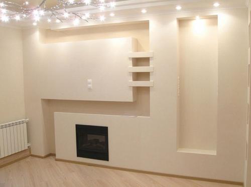 Обшивка стен гипсокартоном своими руками : фото и видео