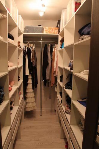 Обустройство гардеробной комнаты: 30 вариантов с фото