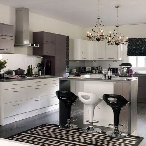 Оформление барной стойки на кухне: освещение, расположение, дизайн