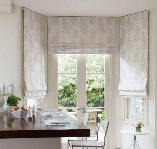 Оформление окна на кухне в современном стиле: фото и советы
