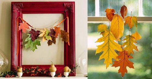 Осенний декор для дома: как обновить интерьер осенью