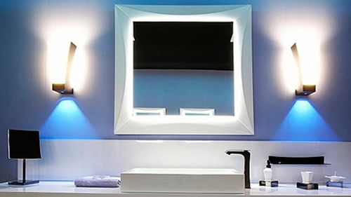 Освещение в ванной комнате: фото дизайна интерьера